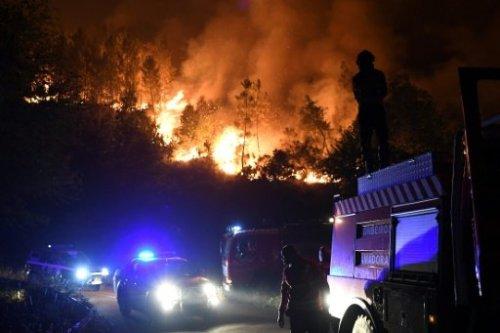 إخماد ابرز الحرائق في البرتغال