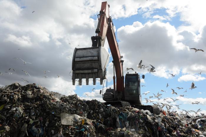 Полигон бытовых отходов «Кучино» в подмосковной Балашихе закрыт