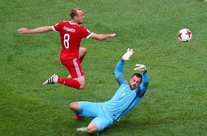 Мутко отметил «огромную самоотдачу» всех игроков сборной России