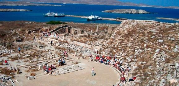 Находки археологов в Греции у острова Делос