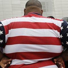 Ученые: свыше 90% мужчин-американцев страдают от лишнего веса
