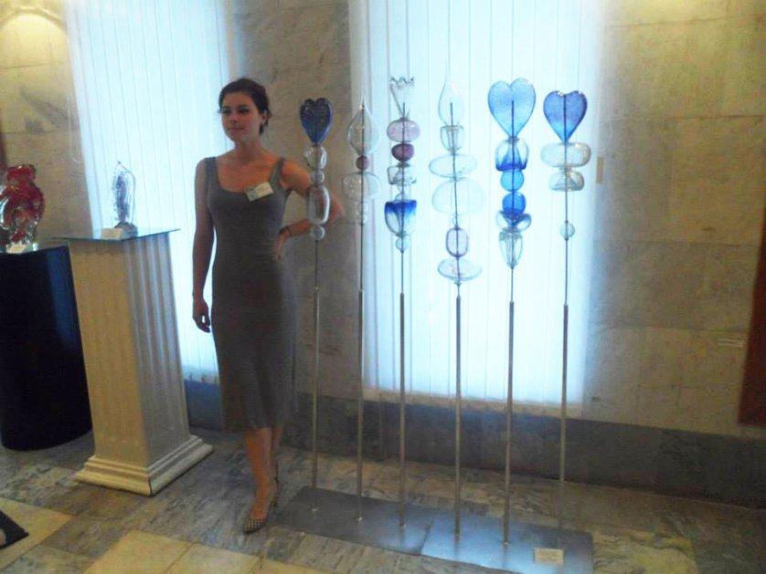 Карина Щербакова, выпускница Московской художественно-промышленной академии им. С.Г. Строганова