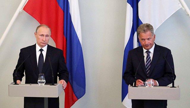 Путин: Россия ценит сбалансированный подход Финляндии во внешней политике