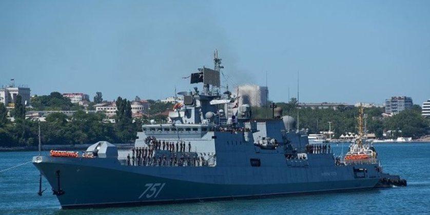 """موسكو ترسل الطراد الصاروخي """"الأميرال إيسين"""" إلى سوريا"""