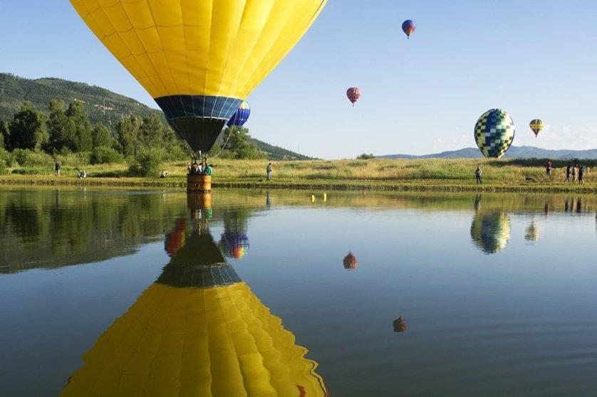Фестиваль воздушных шаров в Колорадо-Спрингс, США.