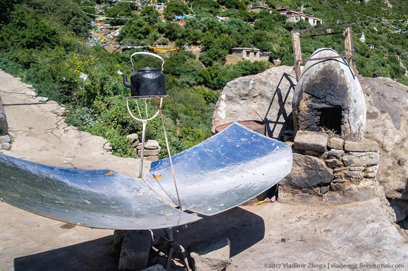 تسخين الماء عبر الطاقة في منطقة التيبيت