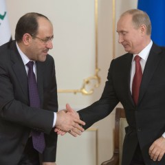 Вице-президент Ирака поблагодарил Путина за ускоренную поставку оружия