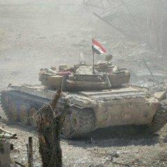 Сирийская армия продвинулась к реке Евфрат