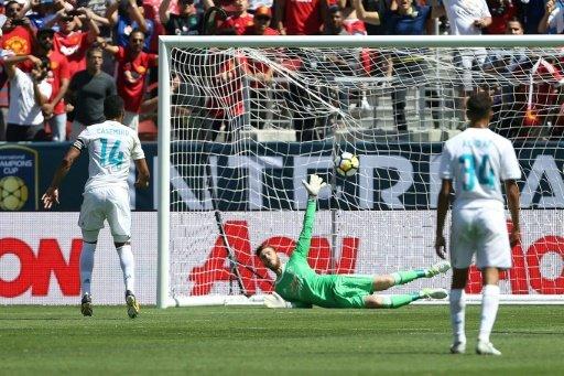 كأس الابطال الدولية: مانشستر يونايتد يهزم ريال بركلات الترجيح