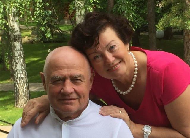 Семен Якубов с супругой Ольгой