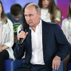 Путин назвал главными ценностями жизнь, любовь и свободу