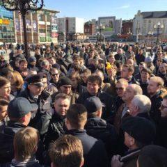 Организатор акции Навального в Калининграде сообщил об отчислении из вуза