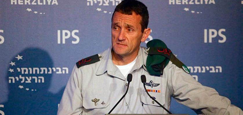 Начальник военной разведки ЦАХАЛ Херци Галеви.