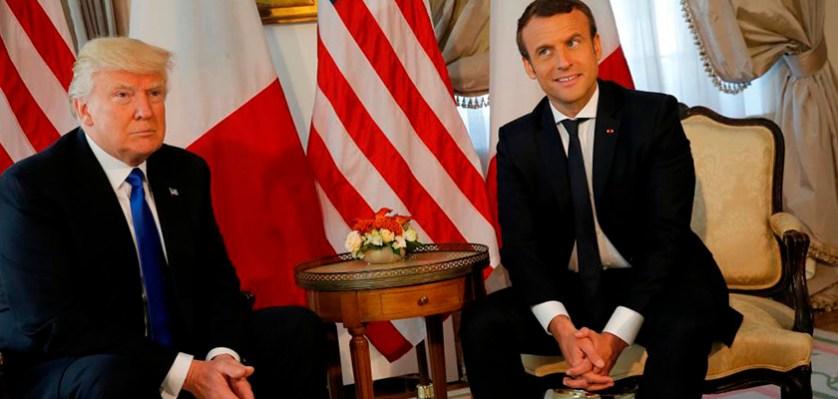 Вслед за США, президент Франции Макрон также снял требования ухода Асада.