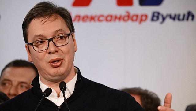 Вучич: Сербия отозвала дипломатов из-за «атакующих действий» Македонии