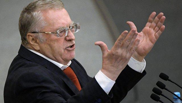 Жириновский предложил избирать президента на один долгий срок