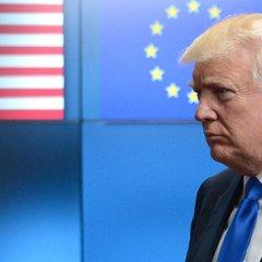 В Берлине заявили, что Трамп обсудит с ЕС новые антироссийские санкции