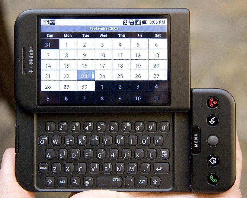 Телефон HTC DREAM