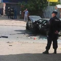 В Уфе в припаркованной машине сработало взрывное устройство