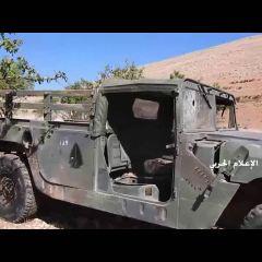 حزب الله يعثر على آلية تابعة للجيش اللبناني في الجانب السوري من الجرود