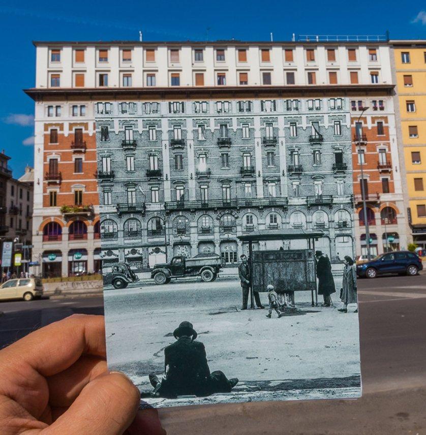 صور الماضي والحاضر