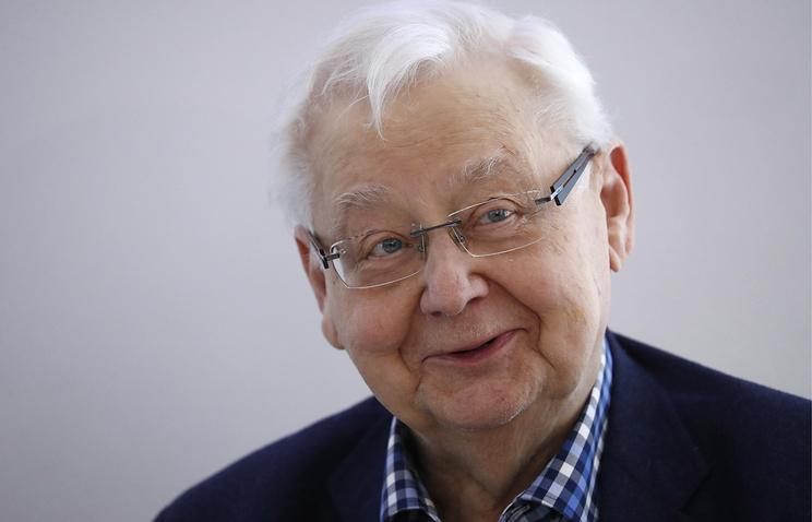 Олег Табаков отмечает 82-летие
