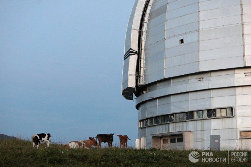 Нижнюю и верхнюю площадки обсерватории соединяет специальная федеральная автодорога.