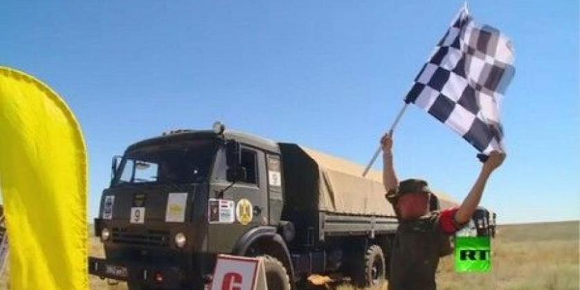 """الجيش الروسي أولا والمصري ثانيا في """"رالي"""" السيارات العسكرية الدولي"""