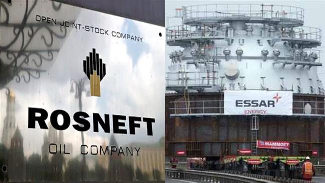 «Роснефть» взяла на себя обязательство выплатить более 2 млрд. евро Ирану за в счет долга компании «Essar Group»