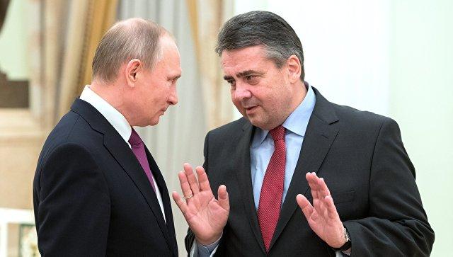 Немецкий министр оказался «на крючке» у Путина