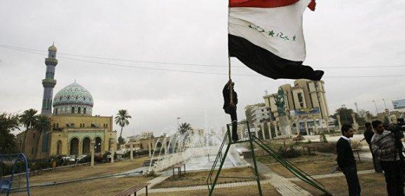 В районе Багдада коалиция во главе с США нанесла удар по боевикам ИГ*