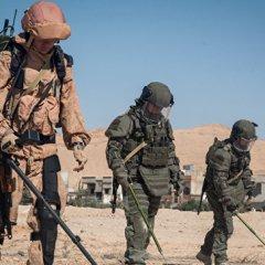 Российские саперы приступили к разминированию сирийского Дейр-эз-Зора