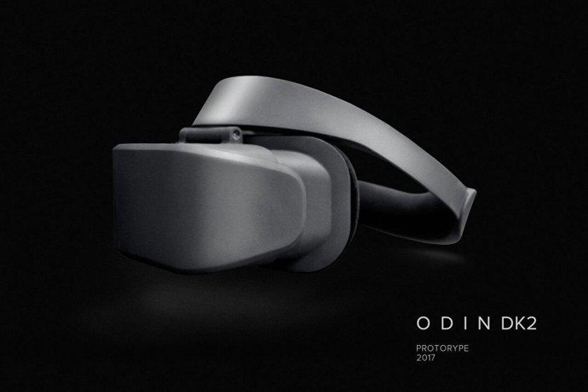 Прототип шлема виртуальной реальности Odin DK2