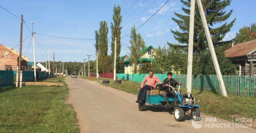 Село Минзитарово в Башкирии
