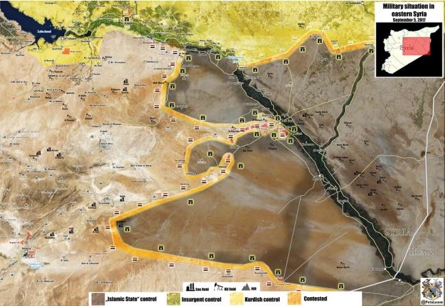 Борьба между правительственными войсками и курдами может разгореться за территории ИГ вдоль Евфрата. Эксперты сранивают реку с Эльбой