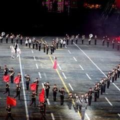 """الساحة الحمراء تحتضن حفل اختتام مهرجان """"برج سباسكي"""" للموسيقى العسكرية"""