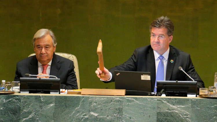 """رئيس الجمعية العامة: أستانا """"خلاص حقيقي"""" للأزمة السورية"""