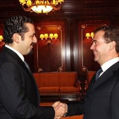 Медведев проведет переговоры с премьером Ливана