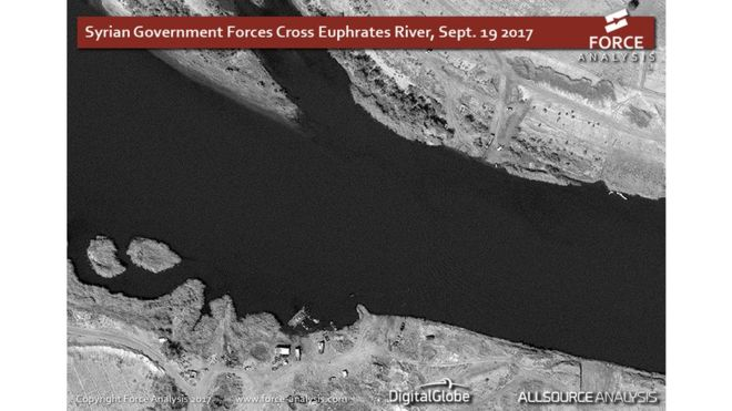 على ضفاف الفرات .. كيف عبرت القوات الحكومية السورية النهر؟