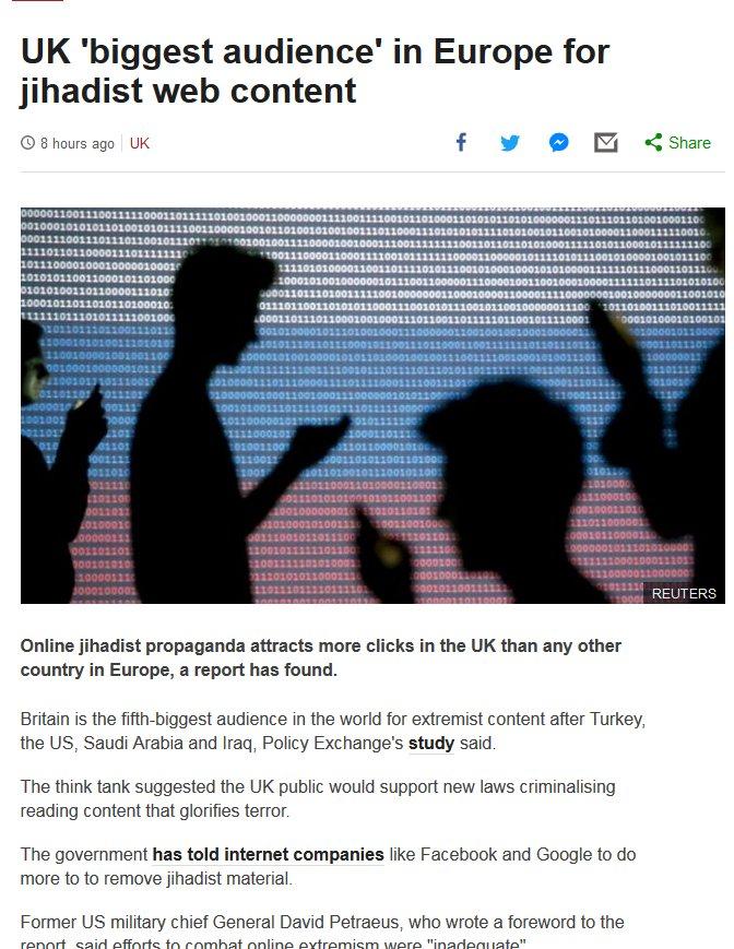 بي بي سي تزيل صورة غريبة من مقال حول الإرهاب بعد احتجاج السفارة الروسية