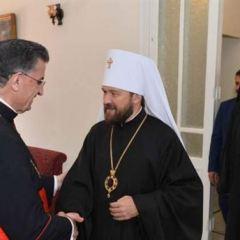 Митрополит Волоколамский Иларион встретился с Главой Маронитской Церкви