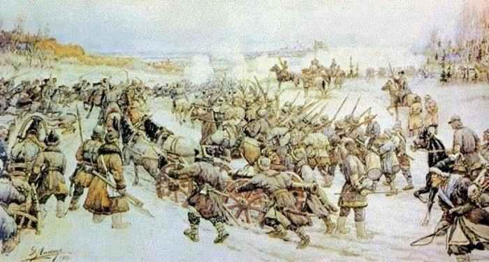 Краткий курс истории — Разгром Болотникова