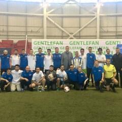 Российские болельщики победили иранских в товарищеском матче перед игрой основных команд