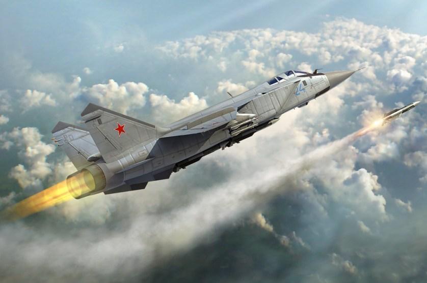 """فيديو جديد يكشف أسرار """"قاتل الأقمار"""" الروسي أسرع طائرة حربية في العالم"""