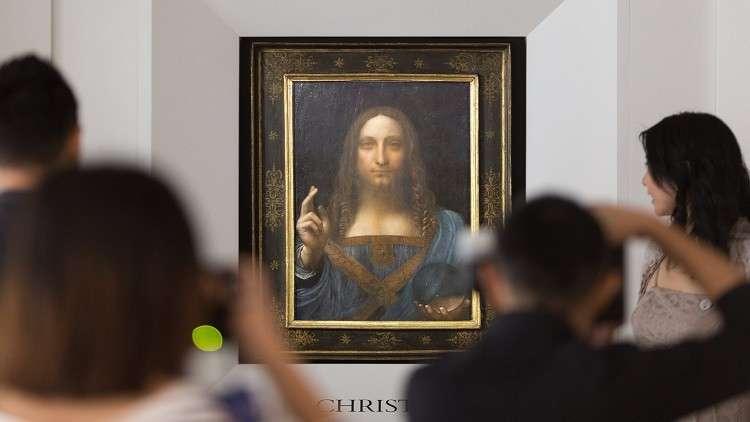 بيع لوحة دافنشي المحيرة بـ100 مليون $ الشهر المقبل