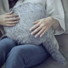 В Японии изобрели уникального робота-подушку с хвостом