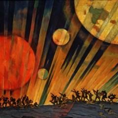 أثر ثورة أكتوبر الاشتراكية في الفن التشكيلي السوري