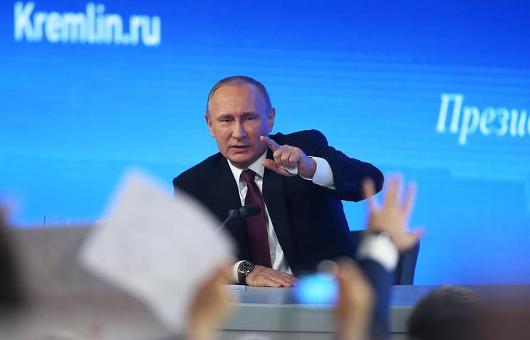 Большая пресс-конференция Владимира Путина пройдет