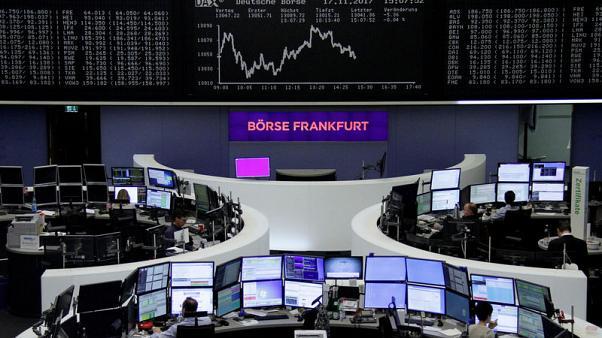 أسهم أوروبا تهبط صباحا بفعل خسائر ألمانيا بعد انهيار محادثات تشكيل الحكومة