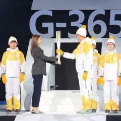 كوريا الجنوبية تستقبل الشعلة قبل استضافة ألعاب 2018 الشتوية
